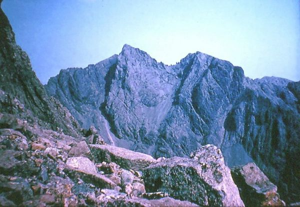 High on the Cuillin Ridge